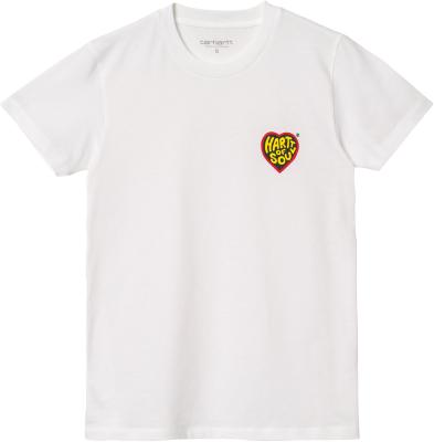W' S/S Hartt Of Soul T-Shirt White