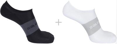 Sonic 2-Packs Socks Black/White
