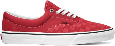 UA Era Deboss Checkerboard Pumpkin/Red/True White