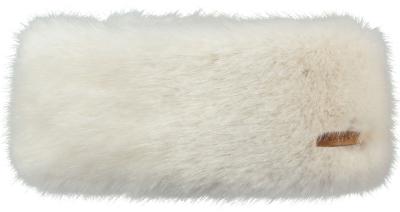 Fur Headband White