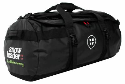 Travel Duffel Bag M Black Snowleader