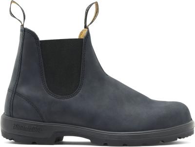 Classic Chelsea Boots Rustic Black