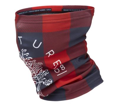 Neckwarmer Red Tweed