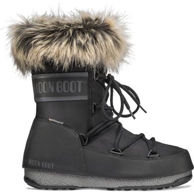 new style 3435c 65c76 Moon Boot Monaco Low WP 2 Black