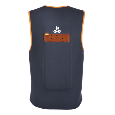 Action Vest Men Grey/Orange