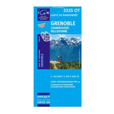 Grenoble Chamrousse Belledonne 3335OT