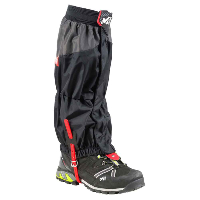 High Route Gaiters Black/Red