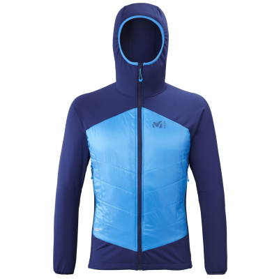 Hybrid Airloft Hoodie M Blue Depths/Electric Blue