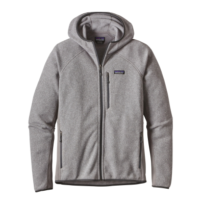 M's Performance Better Sweater Hoody Feather Grey