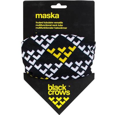 Necktube Maska Black/White/Yellowow