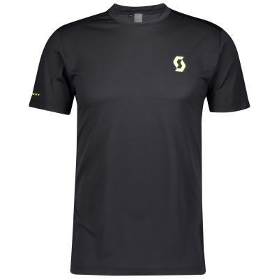 Shirt M's RC Run Team SS Black/Yellow