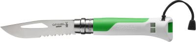 Couteau Outdoor T8 Vert Fluo