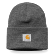 Acrylic Watch Hat Dark Grey Heather