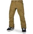 Articulated Pant Burnt Khaki