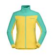 Falketind Warm1 Stretch Jacket W Lemon Chrome/Arcadia