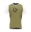 Fjora Wool T-Shirt M Olive Drab/Caviar