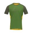 Fjora Wool T-Shirt M Treetop/Lemon Chrome