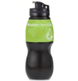 Gourde Water-To-Go Black/Green