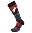 Landscape Ski Socks Merinos Red