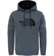 M Drew Peak Pullover Hoodie Tnf Medium Grey Heather (Std)/Tnf Black