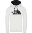 M Drew Peak Pullover Hoodie Tnf White/Tnf Black
