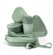 Mealkit Bioplastic Sandygreen