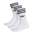 Solid Crew Socks Pack White/Black