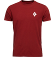 SS Equipment For Alpinist Tee M Red Oxide