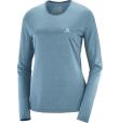 T Shirt  Agile Ls Tee W Mallard Bl/Storm