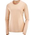 T Shirt  Agile Ls Tee W Sirocco/Shell/He