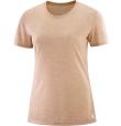 T-Shirt Comet Short Sleeve Tee W Sirocco/Heather