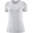 T-Shirt Comet Short Sleeve Tee W White/Heather