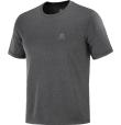 T-Shirt Explore Tee M Black/Ebony/Heather