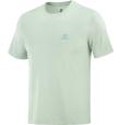 T-Shirt Explore Tee M Harbor Grey/Opal Blue/Heather
