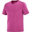T-Shirt Explore Tee M Purple/Fuchsia/Heather