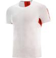 T-Shirt S/Lab Sense Tee M White/Racing Red