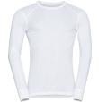 T-Shirt ML Active Warm Eco White