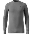 Tee Shirt ML Warm Grey Melange