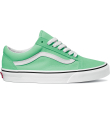 UA Old Skool Green Ash/True White