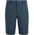 Wanaka Stretch Short M Orion Blue/Wild Lime