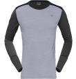 Wool Round Neck M Mid Grey