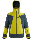 Alagna Stretch Jacket M Wild Lime/Orion Blue