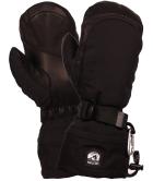 Army Leather Extrem Mitten Noir