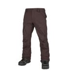 Articulated Pant Black Red