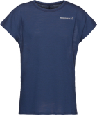 Bitihorn Wool T-Shirt (W) Indigo Night