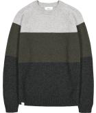 Block Knit Moss