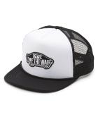 Classic Patch Trucker Cap White/Black