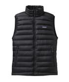 M's Down Sweater Vest Black