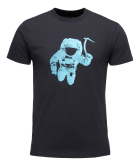 M SS Spaceshot Tee Black/Dual Blue