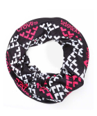 Maska Necktube Black-White-Pink